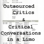 Outsourced Critics and Critical Conversations in a Limo